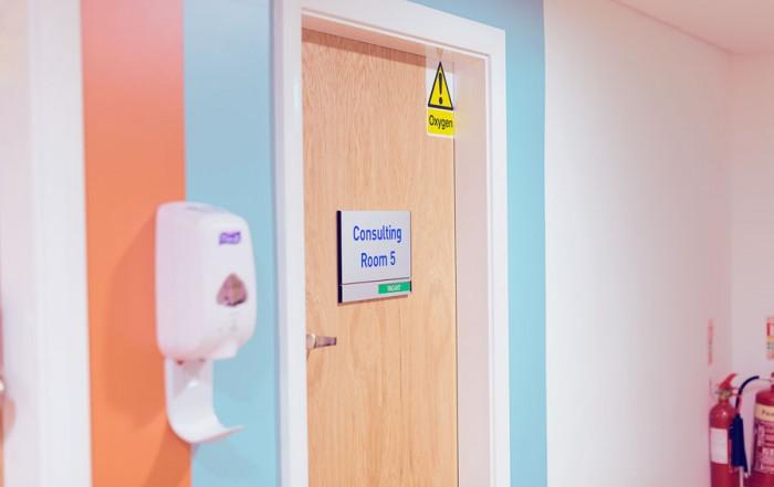 Stockport botox clinic treatment room